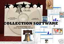 EASY 2 USE + TheCoinDiggers Stamp Collection Software Inventory + FREE STAMPS