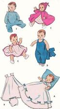 "Ginette Tiny Tears Betsy Wetsy Doll Clothing PATTERN 8800 for 8"" 9"" dolls Vogue"