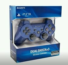 Brand New SEALED Sony Playstation 3 PS3 Dualshock 3 Wireless Controller BLUE