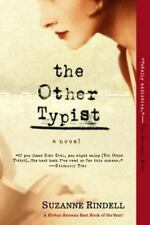 The Other Typist: A Novel by Rindell, Suzanne, Good Book