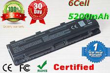 Battery for Toshiba Satellite C50 C50D C50t C55 C55D C55Dt C55t PA5109U-1BRS