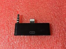 Audio Adapter For iPhone 5s 5c 5 to 4 4S Dock 30 8 Pin 3.5mm