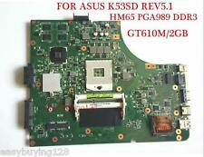 For ASUS K53SD MAIN BOARD REV 5.1 Intel Motherboard 60-N3EMB1200-D25 100% tested