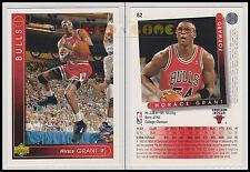 NBA UPPER DECK 1993/94 - Horace Grant # 62 - Bulls - Ita/Eng - MINT