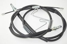 Ford Transit Van RWD Twin Wheel - Rear Left and Right Disc Brake Cables (Pair)