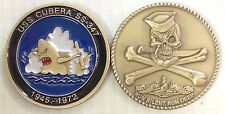 USS Cubera SS 347 Submarine Coin Jolly Roger WWII