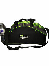 PICKLEBALL MARKETPLACE Small Contrast Duffle-New/Embroidered-Carry Paddles -Lime