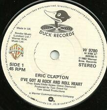 ERIC CLAPTON - (I'VE GOT A) ROCK AND ROLL HEART 1988 - ORIGINAL 80s CLASSIC ROCK