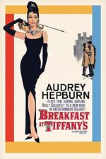 AUDREY HEPBURN BREAKFAST AT TIFFANYS ONE SHEET 91.5X61CM POSTER NEW OFFICIAL