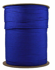 Electric Blue - 550 Paracord Rope 7 strand Parachute Cord - 1000 Foot Spool