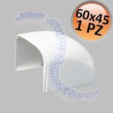 3S TAPPO CURVA TERMINALE x CANALINA 60x45 mm MONO SPLIT