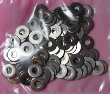 ( Qty 100 )  Flat Stainless Steel Washer #6   - No 6 Washers (18-8 ST.ST)