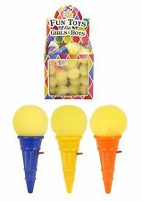 36x Ice Cream Popper - Mini Catch It Cone Game - Party Bag Toys - BULK BUY