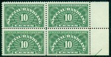 SCOTT # QE-1a BLOCK OF 4, MINT, OG, NH, VERY FINE, 2 STAMPS SE, GREAT PRICE!