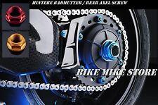 LIGHTECH Hintere Achsmutter rear axle srew Yamaha Fazer FZ6 FZ8 FZ1 R1 R6 24x1,5