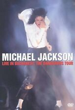 "MICHAEL JACKSON ""LIVE IN BUCHAREST' DVD DANGEROUS NEU"