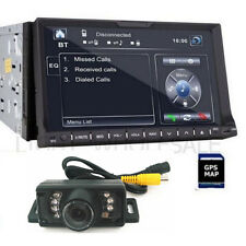 "7"" 2Din Car DVD Player GPS Nav Stereo 3D UI iPod TV BLUETOOTH+ SONY CD LENS+MAP"