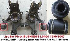 2pcSet Rear Knuckle Pivot Bushings fits Lexus LS400 1990- 94 95 96 97 98 99 2000