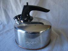 Vintage Paul REVERE WARE Copper Bottom Whistling Tea Pot Kettle 341610