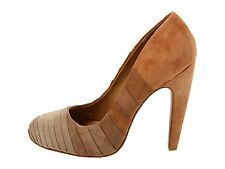 NIB Mark & James Elisha by Badgley Mischka suede pump heels shoes Nude ombre 7,5