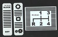 Schaltschema für Gutbrod Traktor 1050 usw 3teilig ab BJ 1970