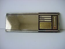 Vintage Auto Advertising Visor Mirror Thermometer, Service Record San Jose CA