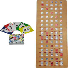 BINGO Kit - Calling Cards (deck of 75) and Masterboard Shutter/Slide Card