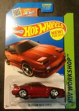 Hot Wheels Custom Super Treasure Hunt 96 Nissan 180SX Type X w Real Riders