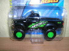 Maisto Fresh Metal 4 x 4 Rebels Ford Pickup schwarz black, 1:64