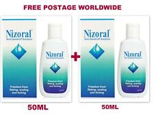 2 X 50 ml Nizoral ANTI-DANDRUFF KETOCONAZOLE SHAMPOO Flaking, itching ,Scaling