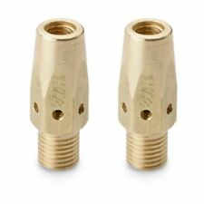 MILLER 169728 Contact Tip Adapter for M-25 & M-40 MIG Guns (2 Per Pack)