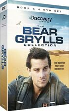 THE BEAR GRYLLS COLLECTION - BOOK & 4 DVD SET, ESCAPE FROM HELL & TRUE GRIT BOOK