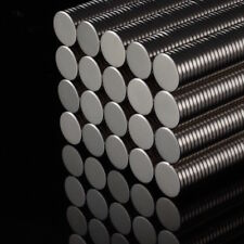 20x Neodym Scheiben Magnete D8x1 NdFeB N52 850g stark rund