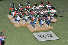 25mm Mexican Texas war mexican 15 infantry (4655) metal painted