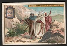 Mohamet Maometto And The Spider Moslem Religion c1903 Card: