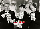 "Three Stooges~Curley~Moe~Larry~Comedy Team~Poster~ Photo~20"" x 28"""