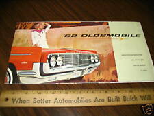 1962 OLDSMOBILE Car Sales Brochure Dutch Holland
