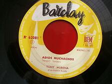 TONY MURENA Adios muchachos / poema 62081 JUKE BOX