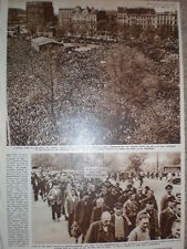 Photo article Hamburg hunger march Germany 1947
