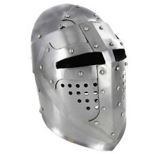 Medieval Knight Great Bascinet Re-enactment Costume Helmet Replica