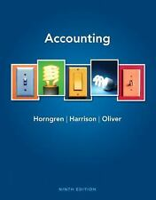 Accounting (9th Edition) by Horngren, Charles T., Harrison Jr., Walter T., Oliv