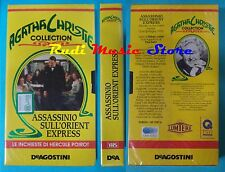 VHS film ASSASSINIO SULL'ORIENTE EXPRESS 1974 sigillata DEAGOSTINI  (F11) no dvd