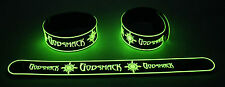 GODSMACK NEW! Glow in the Dark Rubber Bracelet Wristband I Stand Alone GG255