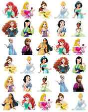 Disney Princess Medio Cuerpo Stand Up Cupcake Toppers Oblea papel buy2 obtener 3rdfree!