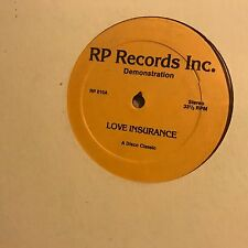 FRONT PAGE • Love Insurance • Vinile  12 Mix • RP010