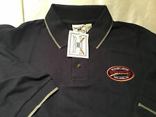 *NEW* Oarsman 913 Mens Navy Blue Polo Shirt Winchester San Jose CA  NWT!