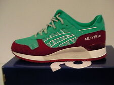 Asics running shoes gel-lyte iii size 9 us men spectra green new with box