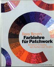 Farblehre für Patchwork v. Jinny Beyer 3887464095