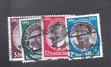 VG472 GERMANY #432-435 USED CDS CANCELS VERY NICE $23.45