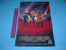 FULL MOON ENTERTAINMENT PUPPET MASTER 2 NO STRINGS ATTACHED MOVIE POSTER PIN UP
